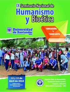 Afiche UDES Seminario Educación y Conflicto